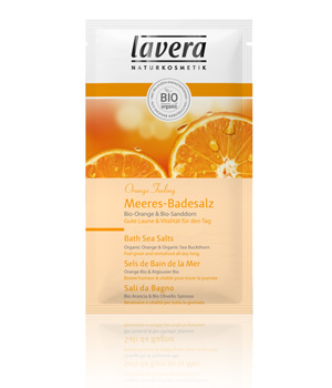 Lavera Sels de Bain Instant de Repos Orange Argousier Body SPA 80ml