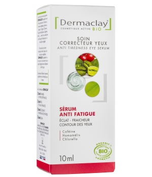 Dermaclay  Sérum anti poches anti fatigue formule + Dermaclay 10ml