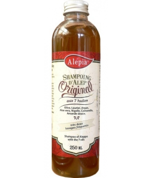 Alepia Shampoing d'Alep aux 7 huiles 250ml