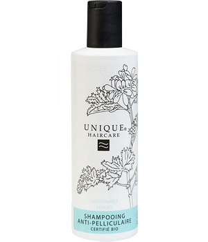 Unique Shampoing antipelliculaire au Romarin 250ml