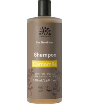 Urtekram Shampoing Camomille pour cheveux blonds 500ml