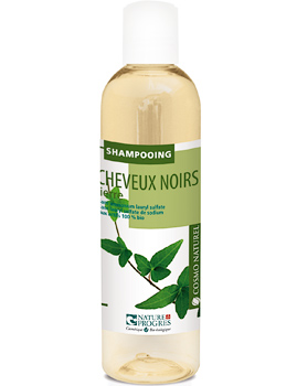 Cosmo Naturel Shampoing cheveux noirs Lierre 250ml