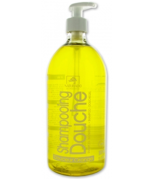 Naturado Shampoing douche Douceur Orange 1L