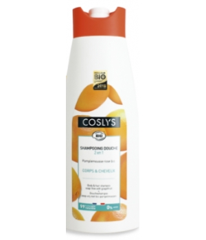 Coslys Shampoing Douche Pamplemousse Bio 750 ml