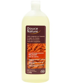 Douce Nature Shampoing Douche Relaxant Santal 1L