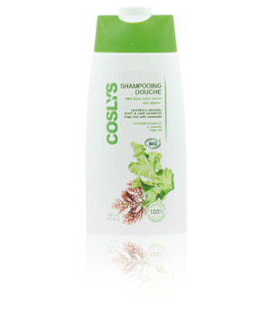 Coslys Shampoing douche Remineralisant aux Algues Marines 250ml