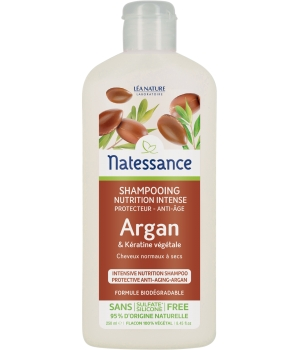 Natessance Shampoing Nutrition Intense Protecteur anti âge 250ml