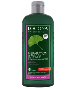 Logona Shampoing réparation intense au Gingko 250ml