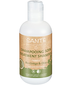 Sante Shampoing soin Ginkgo et olive 200ml