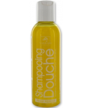 Naturado Shampooing Douche Plaisir Abricot format weekend 100ml