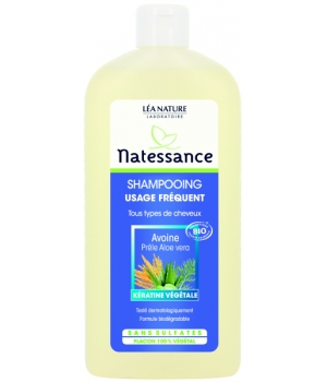 Natessance Shampooing Usage Fréquent 500ml