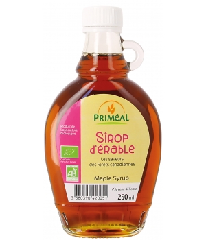 Primeal Sirop d'Erable 250ml