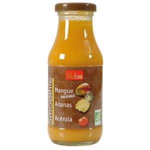 Vitabio Smoothie Mangue Ananas Acerola 250ml