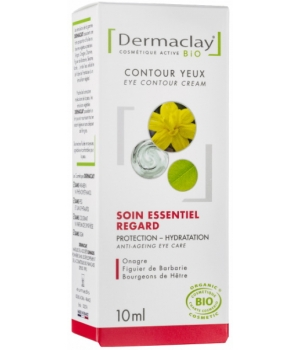 Dermaclay  Soin essentiel Contour Yeux Performance Anti âge Airless 10ml
