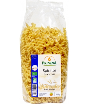 Primeal Spirales blanches 500g