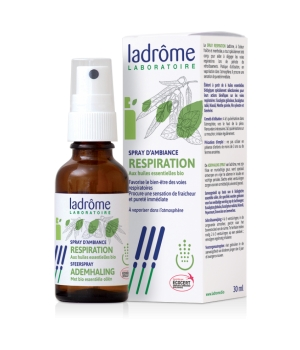 Ladrome Spray d'ambiance Respiration 100% HE 30ml