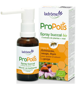 Ladrome Spray buccal Propolis + sauge 30ml