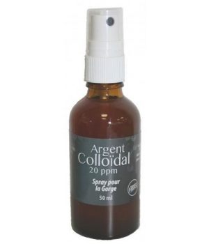 Dr.Theiss Spray Gorge Argent Colloïdal 20 ppm Dr.Theiss