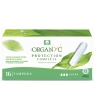Hygiene naturelle Organyc Tampons Super sans applicateur Boîte de 16
