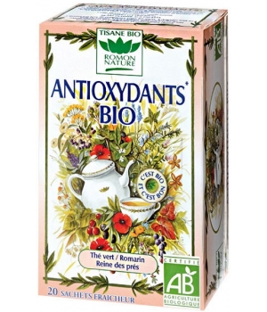 Romon Nature Tisane Antioxydants bio 34g Romon Nature