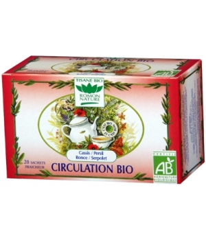 Romon Nature Tisane Circulation bio 32g Romon Nature