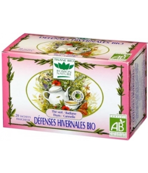 Romon Nature Tisane Défenses hivernales bio 32g Romon Nature