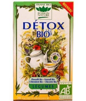Romon Nature Tisane Detox bio aux Légumes 32g Romon Nature