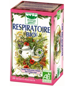 Romon Nature Tisane Respiratoire bio 32g Romon Nature