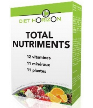 Diet Horizon Total Nutriments 30 comprimés Diet Horizon