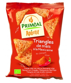 Primeal Triangles de Maïs à la Mexicaine 50g