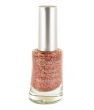 Maquillage bio Couleur Caramel Vernis à Ongles n°13 Glitter or rose