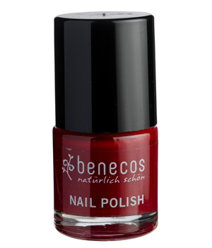 Benecos Vernis à ongles Cherry Red 9ml