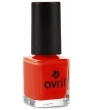 Maquillage bio Avril Vernis à ongles Coquelicot n°40 7ml