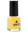 Maquillage bio Avril Vernis à ongles Jaune Curry n°680 7ml