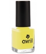 Maquillage bio Avril Vernis à ongles Jaune Jonquille n°632 7ml