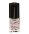 Maquillage bio Logona Vernis à ongles naturel 01 soft rose 4ml