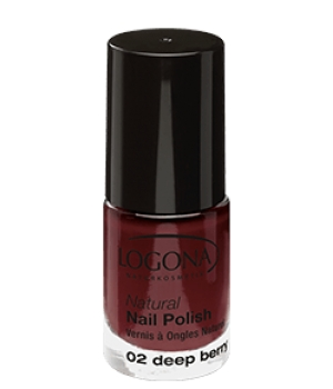 Logona Vernis à ongles naturel 02 deep berry 4ml