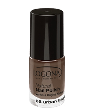 Logona Vernis à ongles naturel 05 urban taupe 4ml