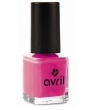 Maquillage bio Avril Vernis à ongles Rose Bollywood n°57 7ml