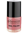 Maquillage bio Benecos Vernis à ongles Rose Passion 9ml