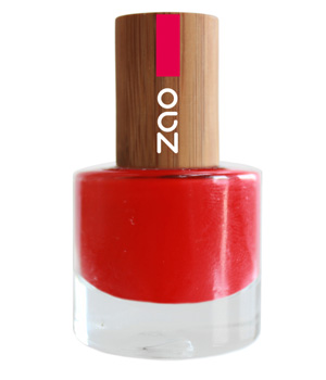 Zao  Vernis à ongles Rouge carmin 650 8ml